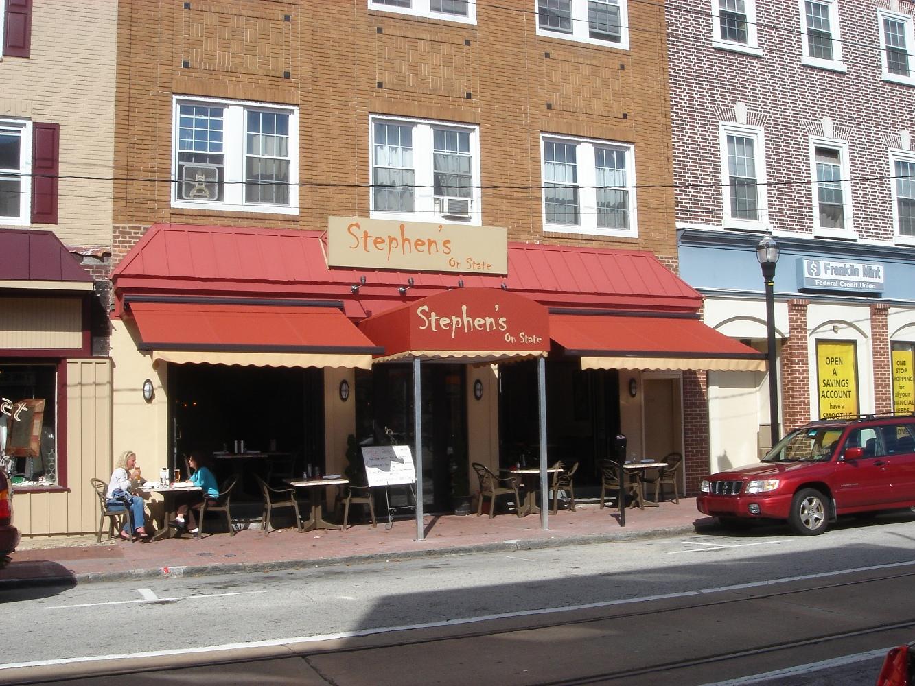 Outdoor Dining Cover, Restaurant Awnings Philadelphia